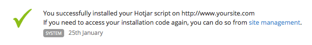 Add Hotjar tracking to a Jekyll website