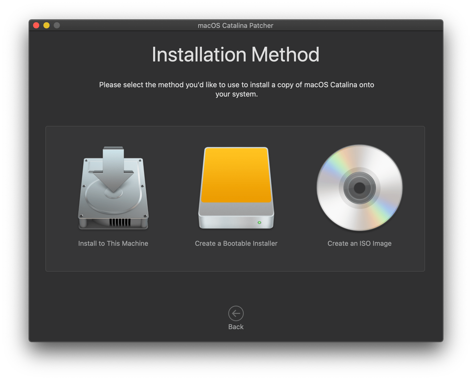How to download a complete macOS Catalina installer app