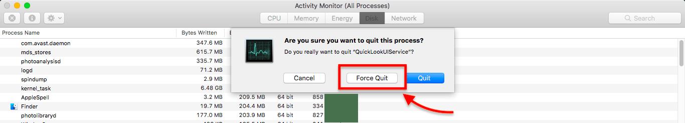 Як виправити: The volume can't be ejected because it's currently in use (для звичайних користувачів)