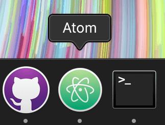 Как исправить: Не видно окно Atom