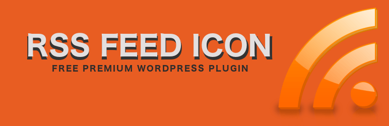 "WP plugin ""RSS Feed Icon"" by SpaceX-Chimp"