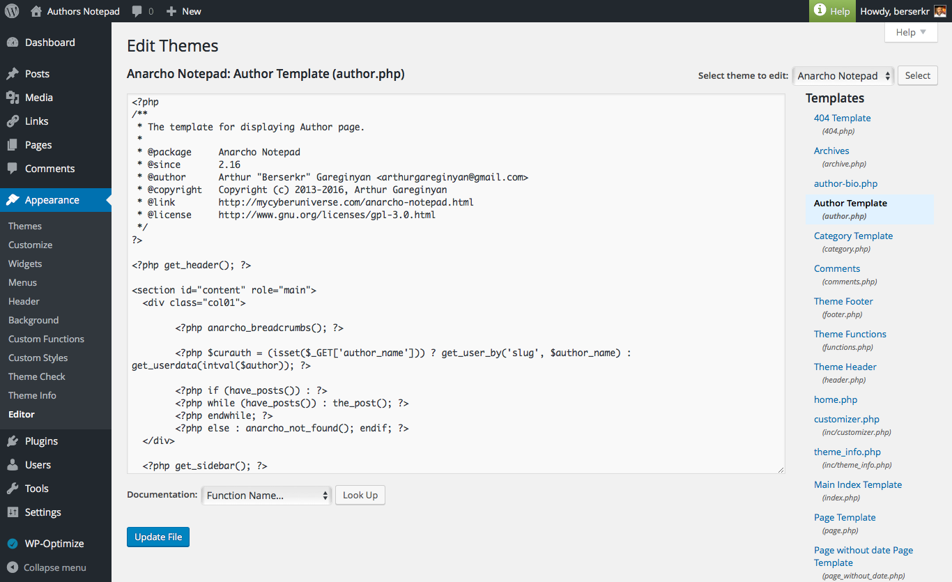 "WP plugin ""Syntax Highlighter for WP Editor"" by Space X-Chimp"